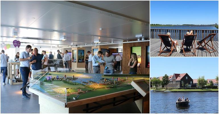Veel bezoekers op zomerse Woonmanifestatie in Meerstad