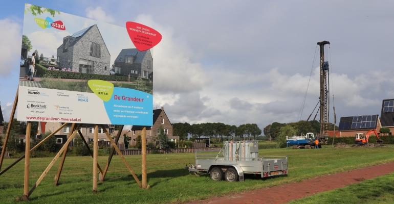 Start bouw energiezuinige woningen 'De Grandeur'