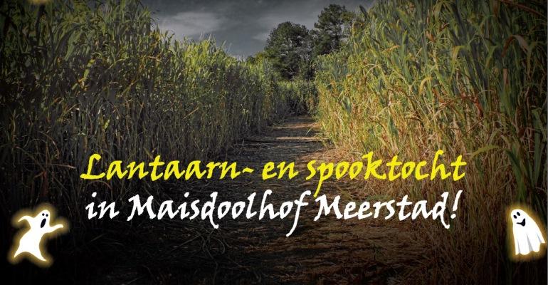 Lantaarn- en spooktocht op 19 en 20 oktober in Maisdoolhof Meerstad