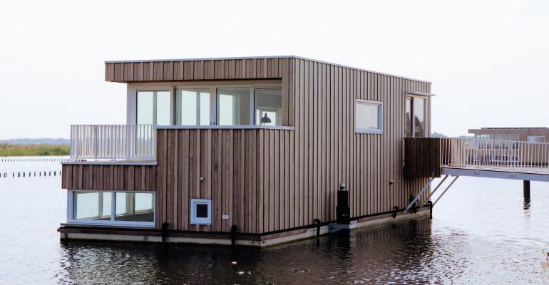Model waterwoning in Tersluis vanaf 5 september geopend voor bezichtigingen