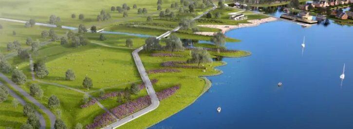 2,5 miljoen kruiwagens zand geven Park Meerstad vorm