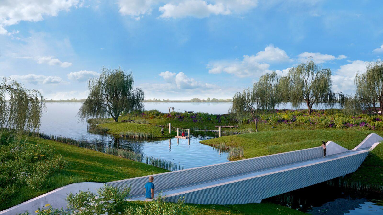 Volg de ontwikkeling van Park Meerstad