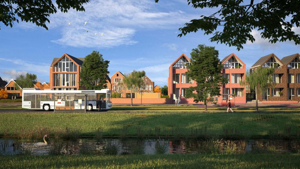 Nieuwbouw en kavels op de groenste plek in Groningen