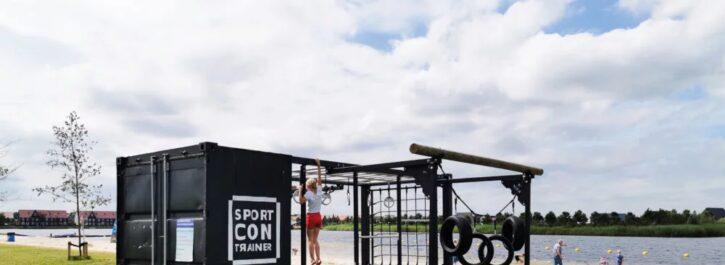 Sporten met de SportContrainer in Meerstad