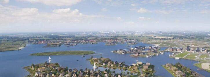 15 november in verkoop: 71 vrije eilandkavels De Zeilen