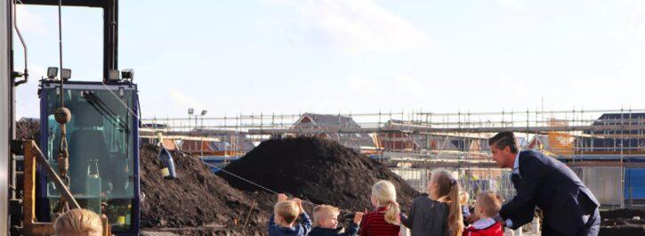 Start bouw 2e fase Parkvilla's Tersluis