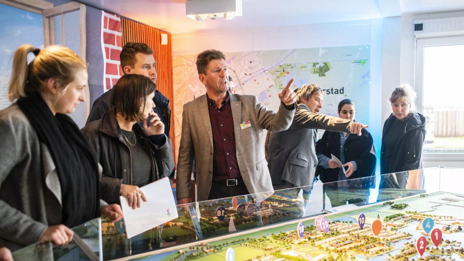 Ruim 250 bezoekers voor grootste eilandkavelproject