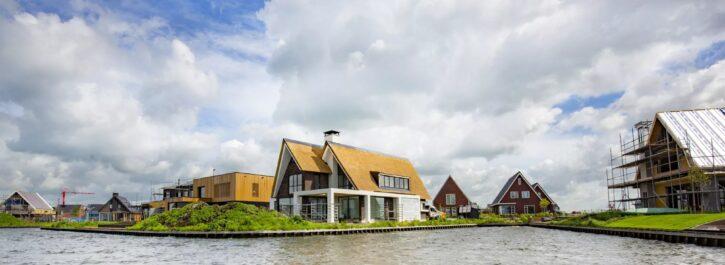 Zelfbouwkavels in Groningen