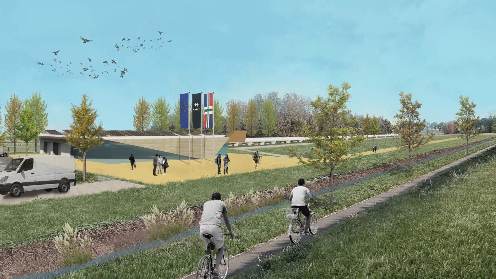Hardt Hyperloop kiest voor Groningen