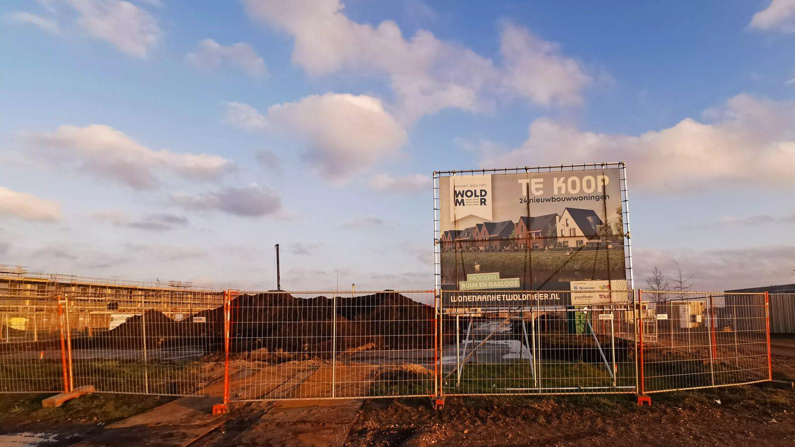 Start bouw 'Wonen aan het water' Tersluis