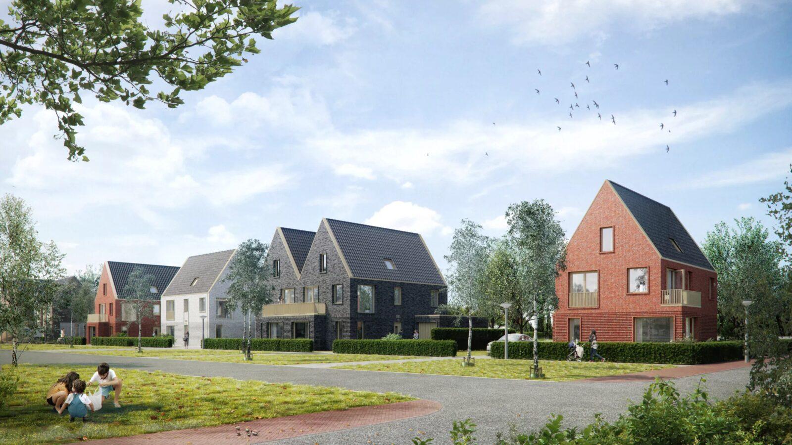 Nu in verkoop – project 'Groots wonen aan de kwelvaart' in Meeroevers