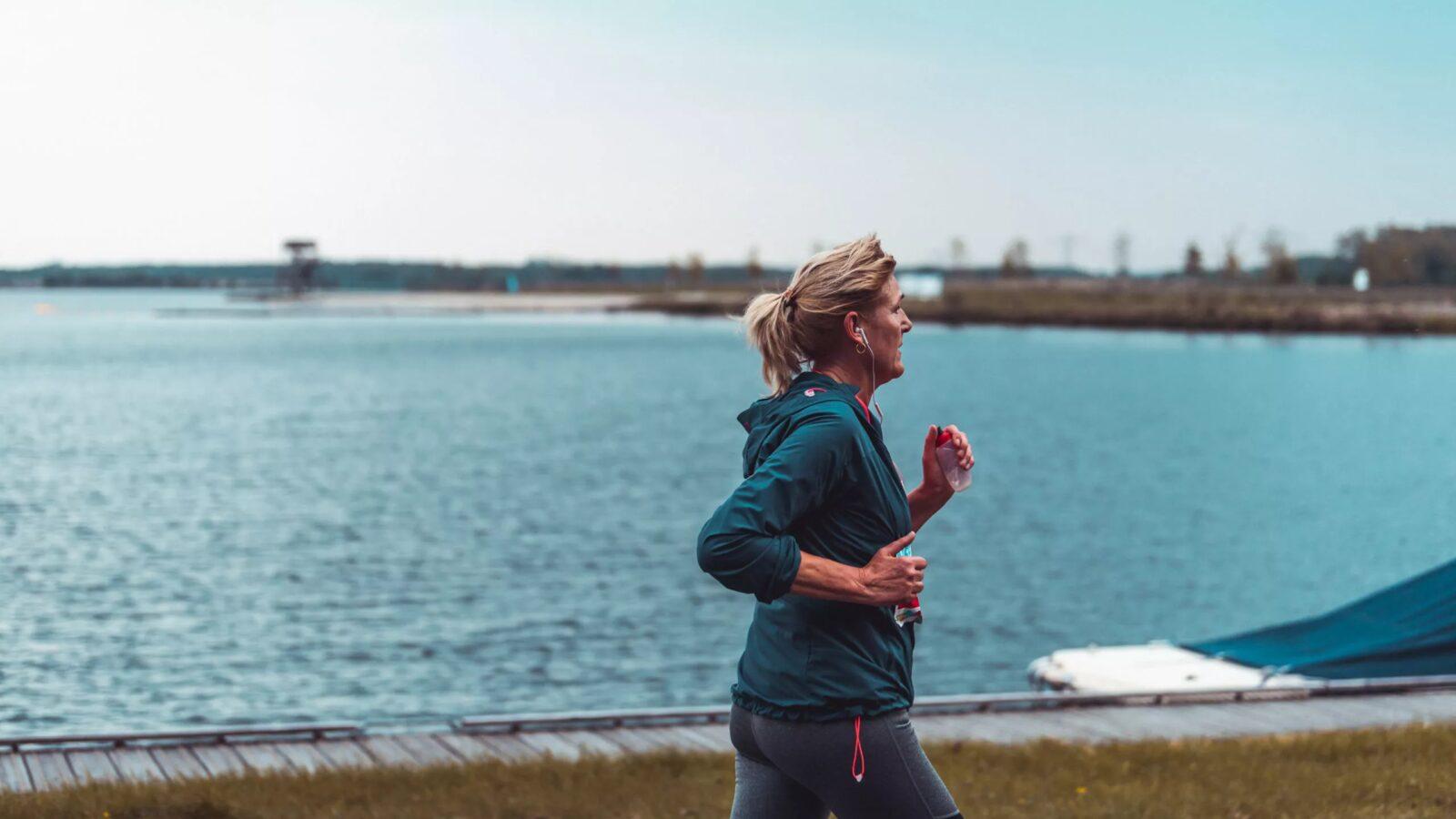 Wandelen en hardlopen in Meerstad