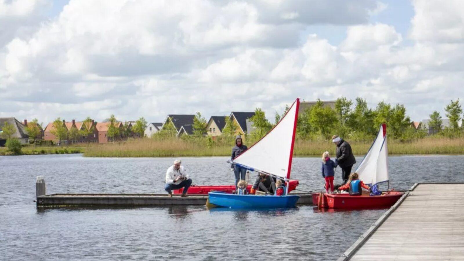 Zeillessen op het Woldmeer