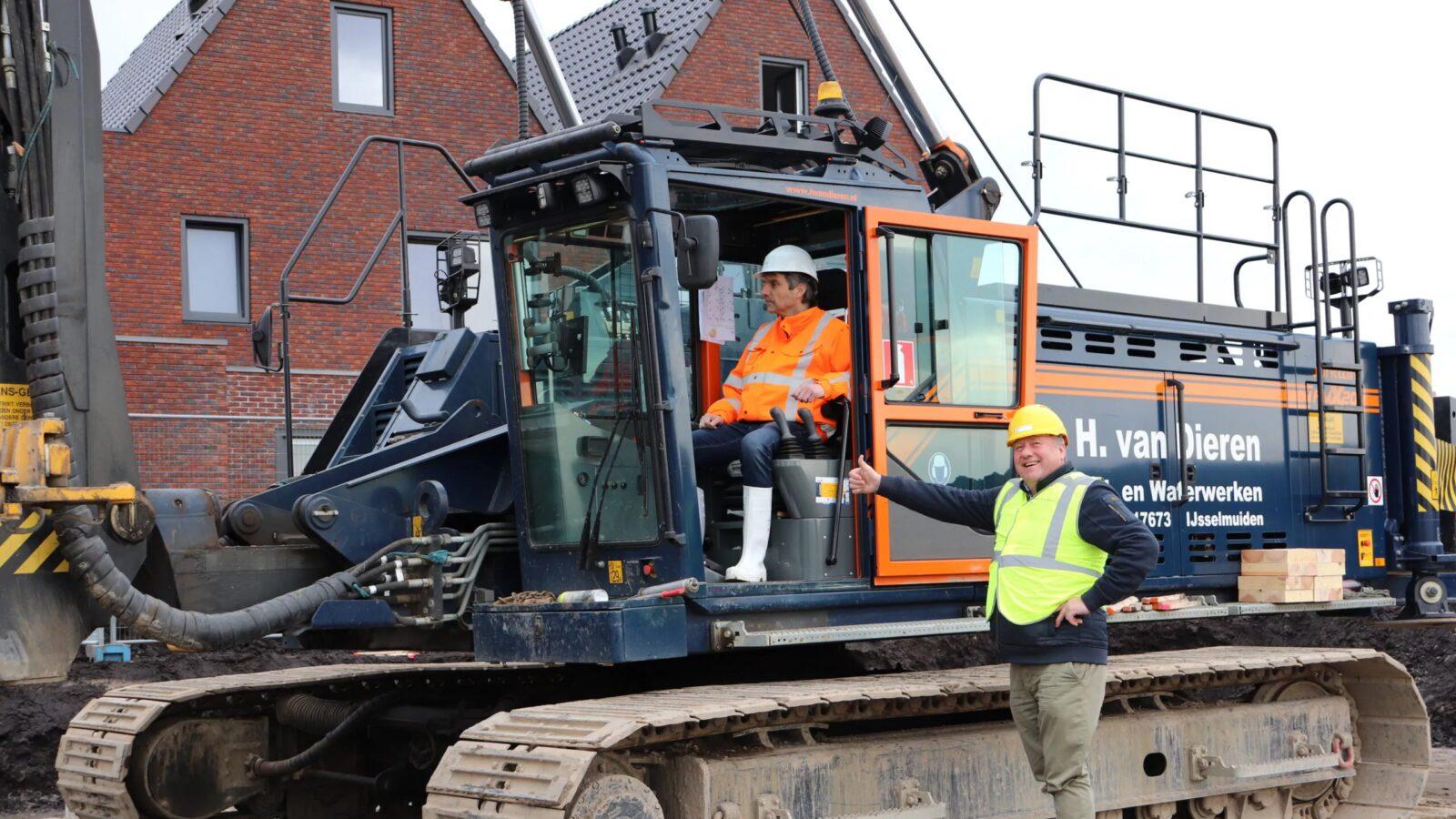 Start bouw Nieuwbouwproject Kader Negen