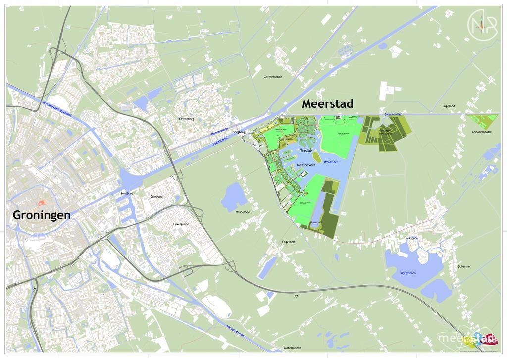 IJsbaanlocatie Vrije kavels Lageland
