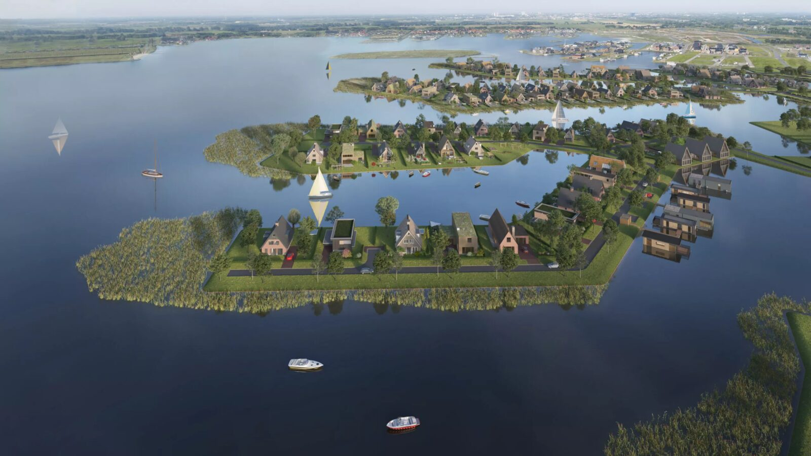 25 maart in verkoop: eilandproject Scheepslanden