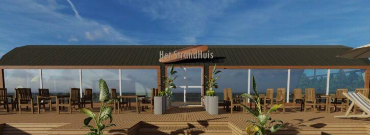 Horecagelegenheid Het StrandHuis opent komend voorjaar zijn deuren in Meerstad