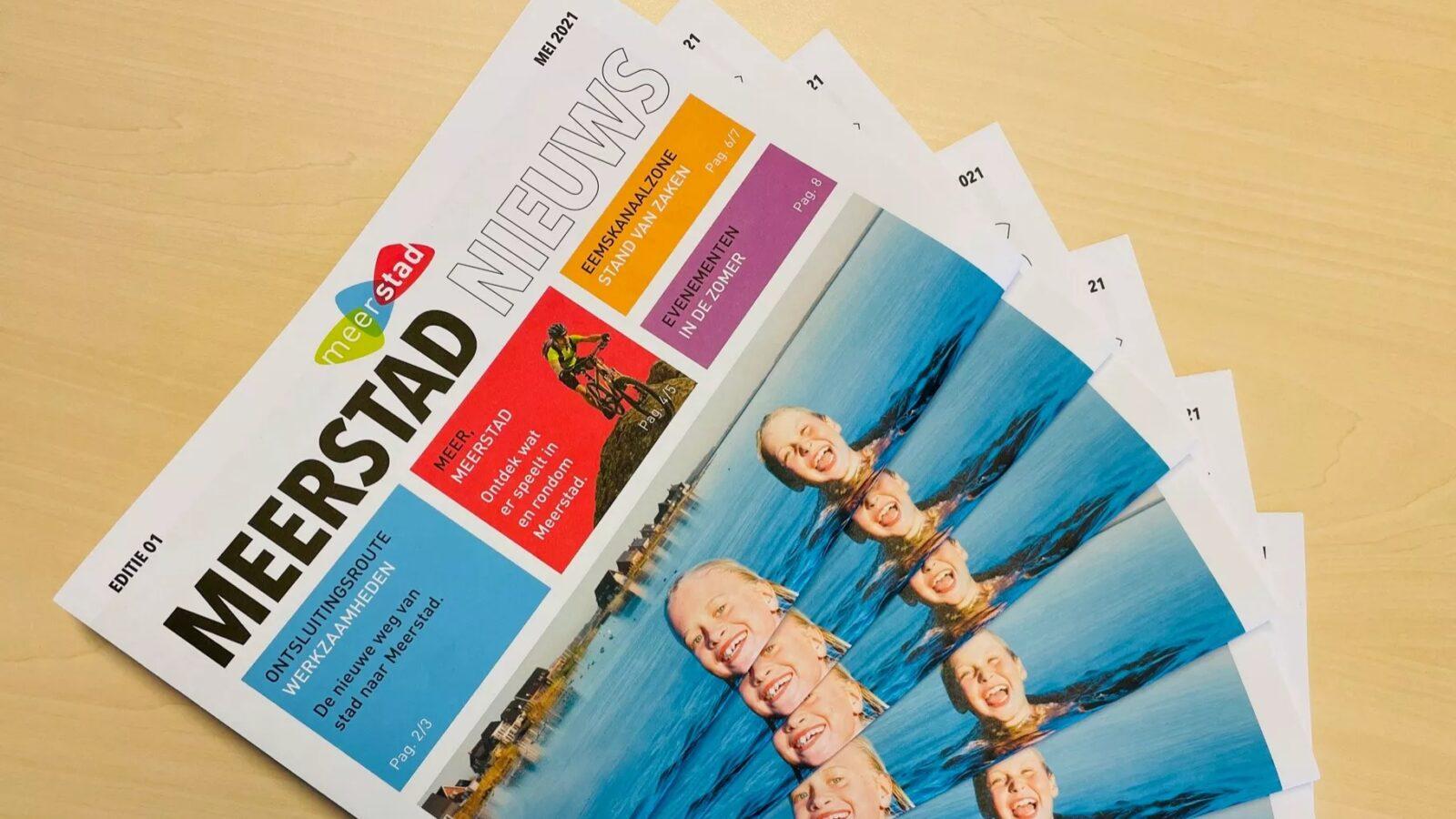 Eerste editie Meerstad Nieuws verschenen